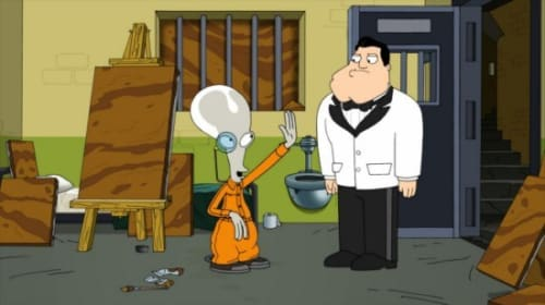 American Dad, for black eyes only.. review