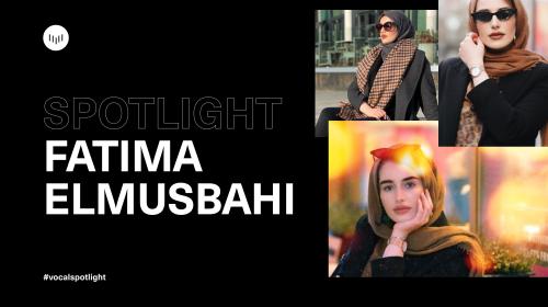 Creator Spotlight: Fatima Elmusbahi