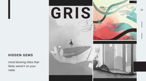 hidden gems games - GRIS