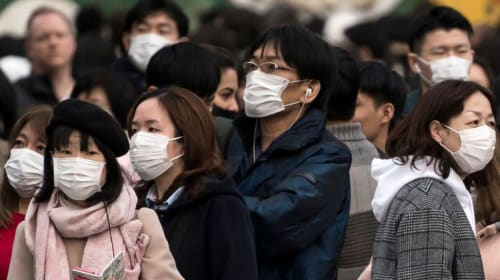 CDC Says Healthy People Shouldn't Wear Masks for Protection from the Coronavirus