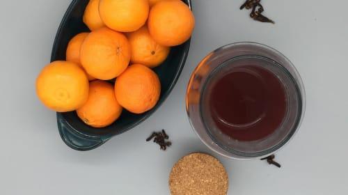 cranberry clementine cider