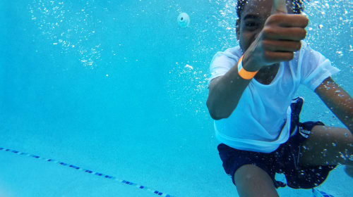 So, You're Going to Your First Swim Lesson — Here's What to Expect.