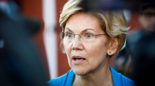 Let's Hope the Door Hits Elizabeth Warren on the Way Out