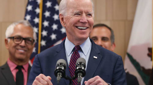 I like Bernie, too, but Joe Biden is the right man for the job.