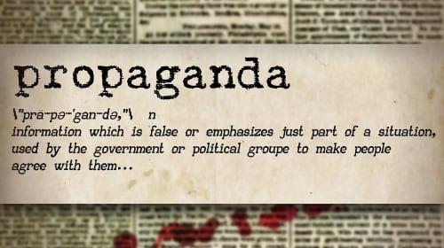 THE PURPOSE OF PROPAGANDA