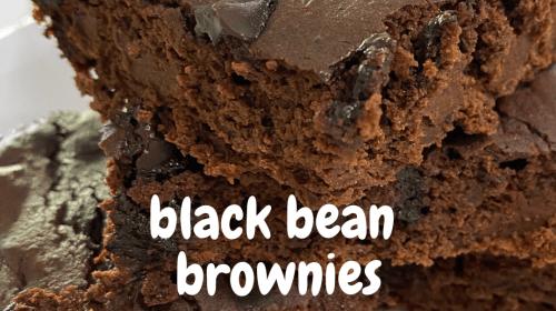 How To Make Easy Black Bean Brownies