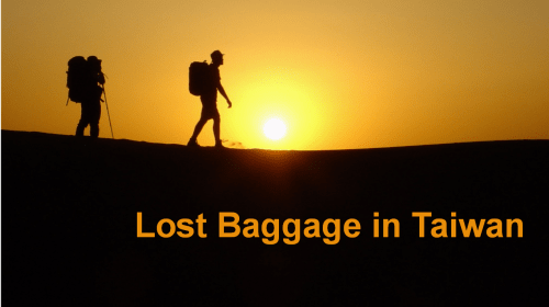 Lost Baggage in Taiwan