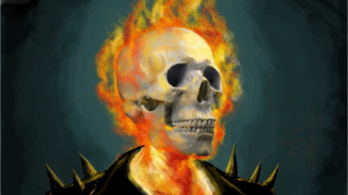 Ghost Rider - a short story