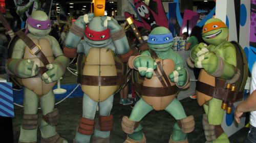 Teenage Mutant Ninja Turtles - a short story