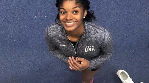 Track Stars App All-National Indoor High School Team