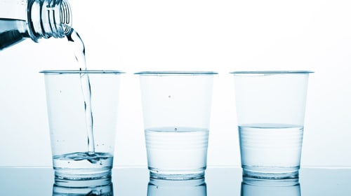 The House Full Of Water Cups