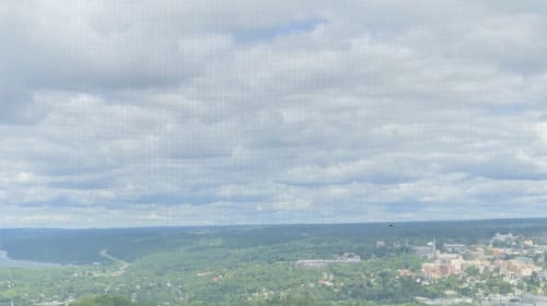 Overcast in Ithaca
