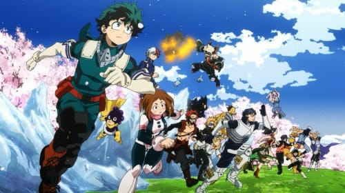 Questions and Theories I have about My Hero Academia.