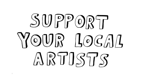 Seven ways to support your local artists