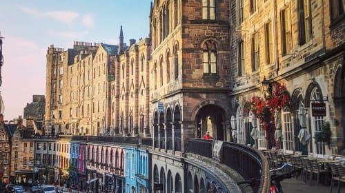 Spontaneous things that you should definitely do in Edinburgh.