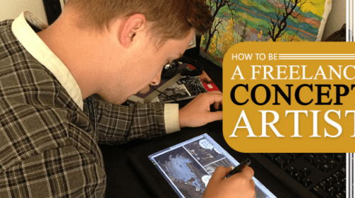 How To Be A Freelance Concept Artist