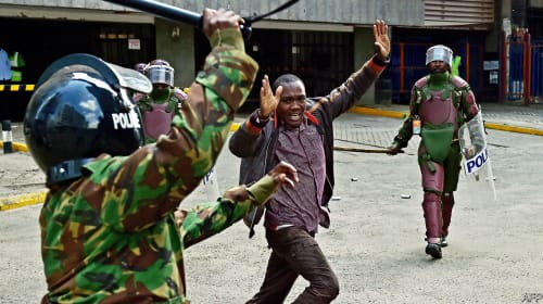 Police Brutality: What Fuels Police Militarization and Brutality in Kenya?