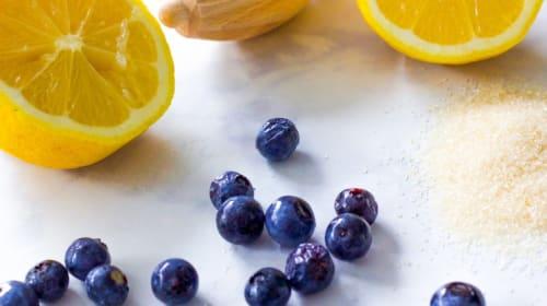 Easy Instant Pot Blueberry Lemon Jam Recipe