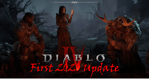 Diablo IV: First 2020 Update