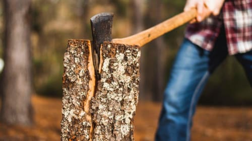 How To Cut Firewood Correctly?