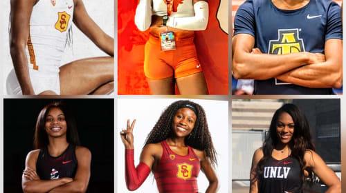 Track Stars App Top 50: NCAA's Best 60-Meter Times in 2020