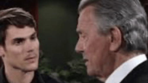 'The Young and the Restless' face-off with Victor and Adam finally happens