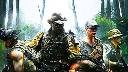 The time I was a member of an elite Fireteam squad in Predator: Hunting Grounds