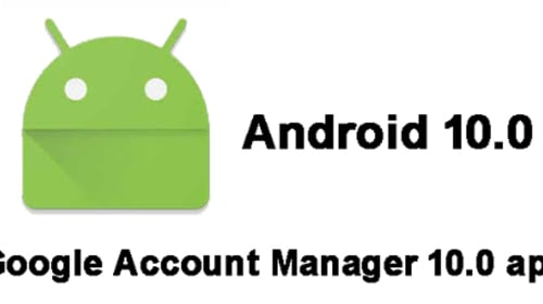 Google Account Manager 10.0 APK