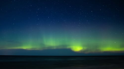 How I was able to see the Northern Lights in Michigan
