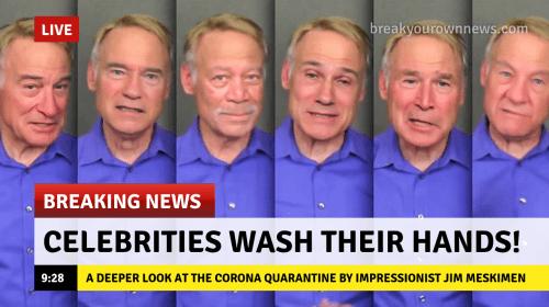 A Celebrity Ode To The Corona Quarantine (YouTube Video)