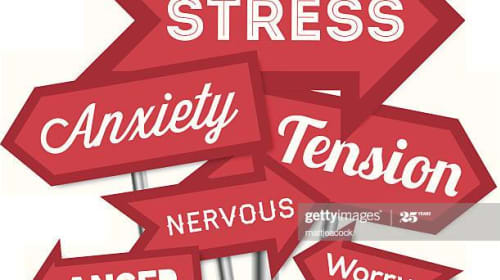 Anxiety disorders can paralyze the sufferer with constant fear and worry?