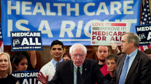 A Vote for Bernie in the Remaining Primaries Is a Vote for Medicare forAll