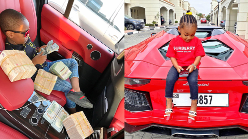 7 Richest Kids in Nigeria (Photos).
