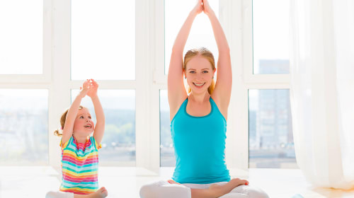 Isolation Yoga For Kids