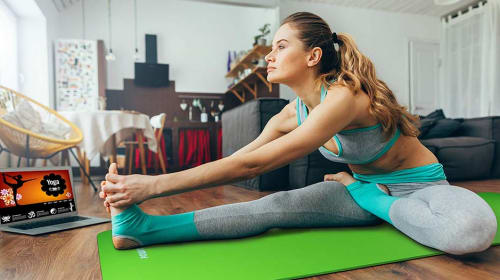 7 Ways to Take Your Yoga Classes Online