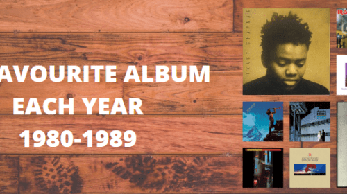 My Favourite Album From Each Year (1980's Edition)