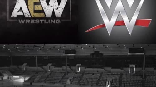 Empty arena wrestling