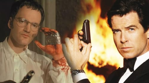 Double-Whoah Seven: Quentin Tarantino Once Pitched A James Bond Movie