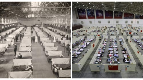 How COVID-19 Compares to the Spanish Flu