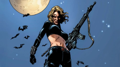 The Shedding of Yelena Belova's Identity, in Marvel Comics 1998-2006.