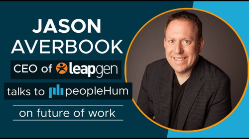 The Future Of Work Is Now- Jason Averbook [Interview]