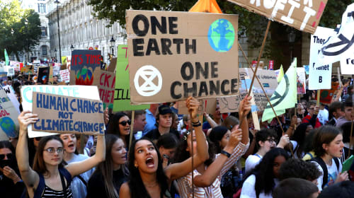 Be Prepared to Protest because We Have to Speak Up For The Earth