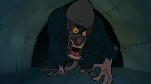 Scary Disney: The Great Mouse Detective: The Bat, The Cat and The Rat