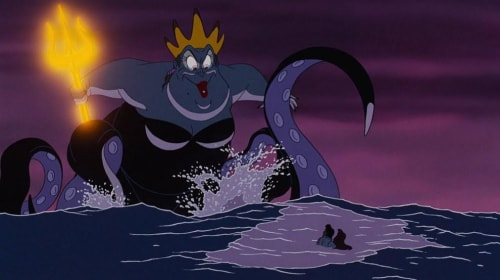 Scary Disney: The Little Mermaid: Flotsam and Jetsam, Ursula and The Final Battle