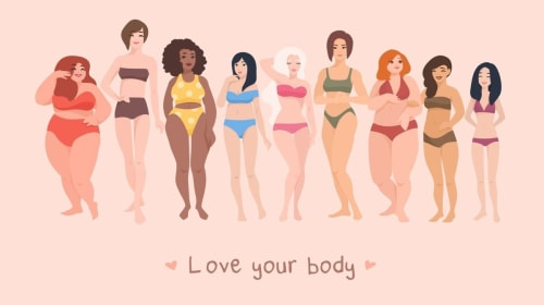 Society Makes Female Body Types a Fashion Statement