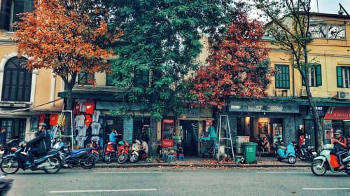 A beautiful corner of Hanoi street photography