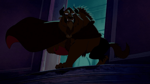 Scary Disney: Beauty and the Beast: The Beginning, The Beast, The Wolves and Gaston