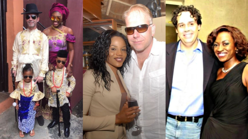 12 Nigerian Celebrities Who Married Foreign Men (Photos).