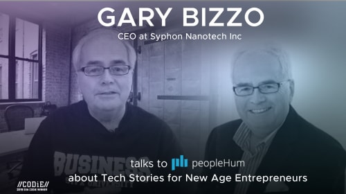 Tech Stories For New Age Entrepreneurs - Gary Bizzo [Interview]