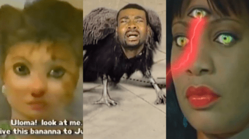 Top 10 Funniest Nigerian Movie Graphics (Clips).